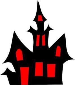 ハロウィン 家