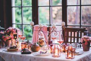 クリスマス テーブル